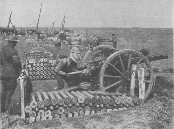 18pounders3rdYpres1917